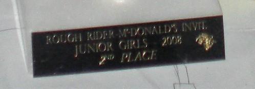 driller jv girls got 2nd