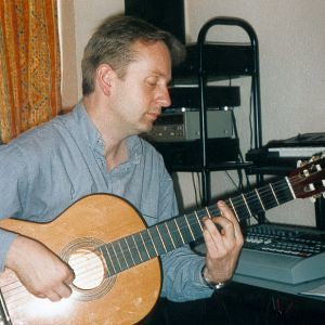 Richard Wileman - recording 'Eve' (2001)