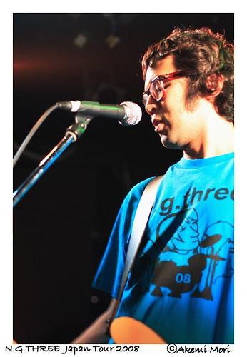 N.G.THREE JAPAN TOUR 2008