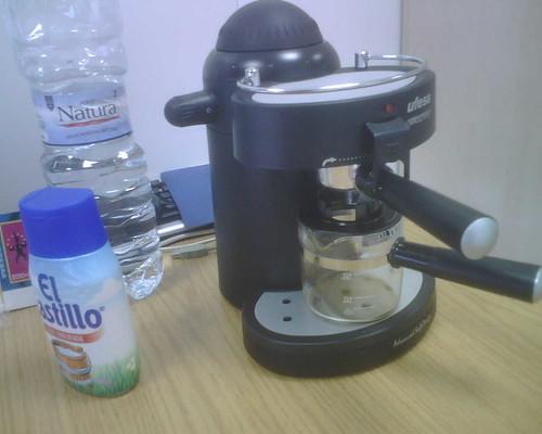 La cafetera de la oficina