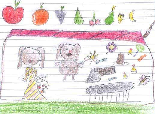 Desenho da Cerejinha