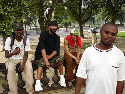 Super Rap Group X Plastaz in Brazil (Courtesy of Juma www.africanhiphop.com)