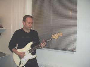 Richard Wileman  - recording 'The Last of the Libertine' (2006/07)