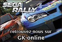 Bannière GK-online : Sega Rally