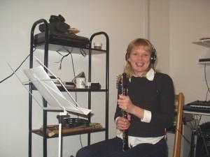 Caron Hansford  - recording 'The Last of the Libertine' (2006/07)