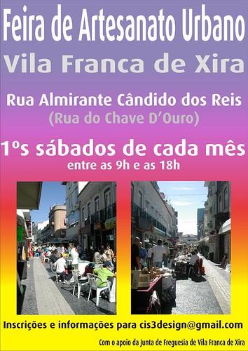 Feira de Velharias e Artesanato Urbano em Vila Franca de Xira