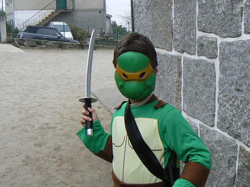 Uma Tartaruga Ninja em Esqueiros?!