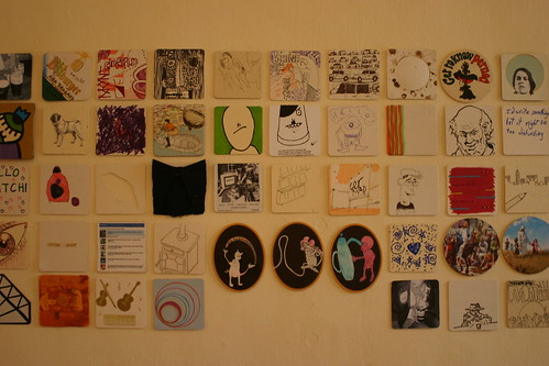 Beermat Show, Temporary Art Space, May 2009