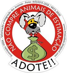 Não compre animais de estimação por Miaaudote!