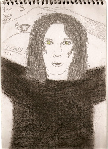 Ville Valo from H.I.M