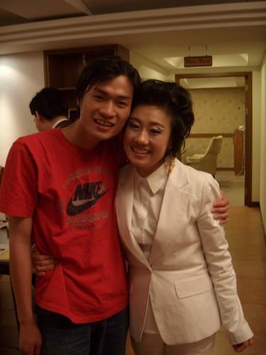 Hoai Phuong and Kang Eun Il