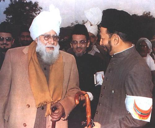 The sons of Hazrat Al-Haaj Mirza Bashir-ud-Din Mahmood Ahmad,Hazrat Hafiz Mirza Nasir Ahmad  and  Hazrat Mirza Tahir Ahmad