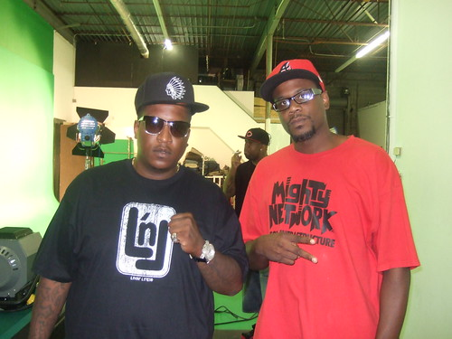 E.D.I Don (Outlawz), RedCoat (Mighty Network) + Young Noble (Outlawz)