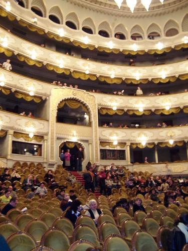 Interior, Paliashvili Opera House, Tbilisi, Georgia