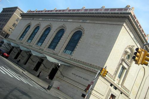 NYC - Brooklyn - Fort Greene: Brooklyn Academy of Music - Peter Jay Sharp Building
