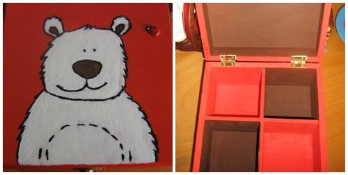 Ref.229 Caixa Urso Polar
