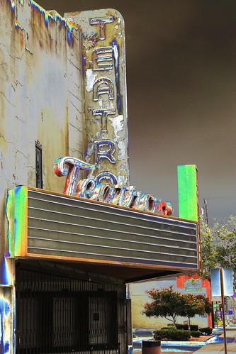 Bob Dylan, Willie Nelson, U2.....And Led Zeppelin? Teatro, Former Movie House & Recording Studio, Oxnard California
