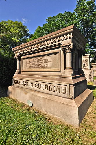 In Memory Of Washington A. Roebling Perished And Lost At Sea On R.M.S. Titanic