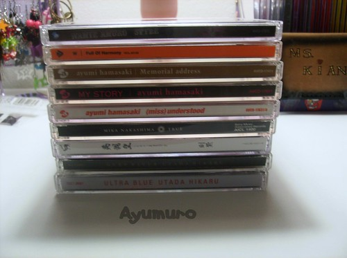 J-pop CD collection as of 10/13/09