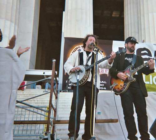 Alex Walsh @ Lincoln Memorial w/ Jack Chernos