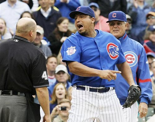 Carlos Zambrano Ejects Umpire in Retaliation