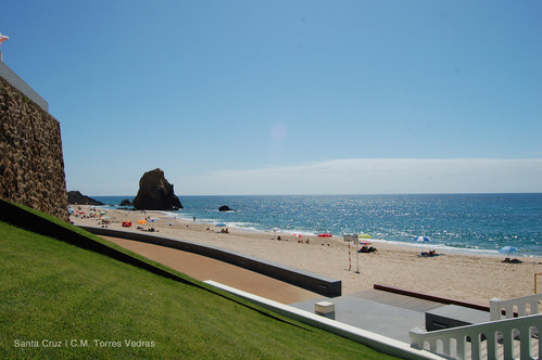 Praia Centro por CM Torres Vedras.