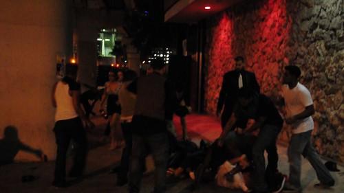 allure nightclub brawl - college fest 09