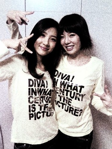 Sun Mi and Hyun Ah