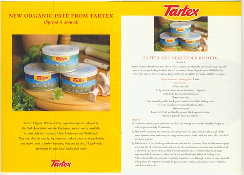 Recipes with tartex