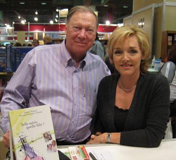 La journaliste et auteur Sophie Thibault et Pierre Lespérance.