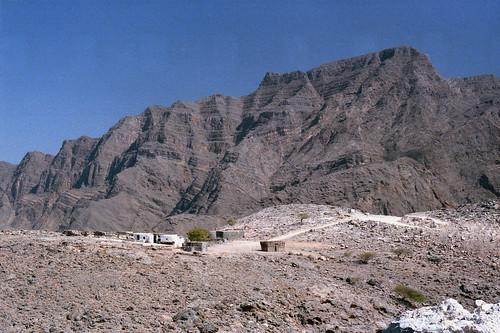 Musandam mountains