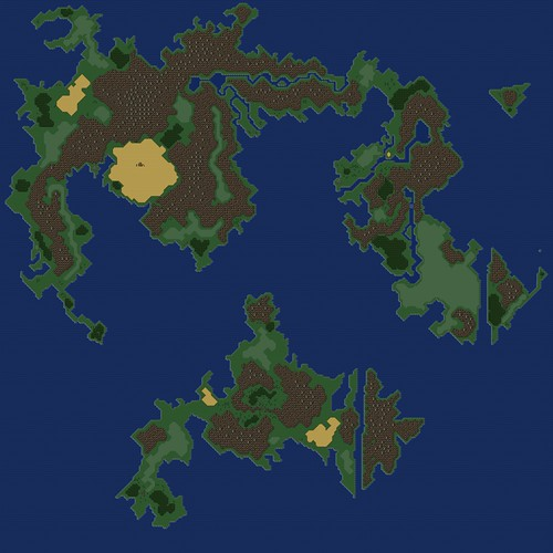 FinalFantasyVI potential prequel map - in progress