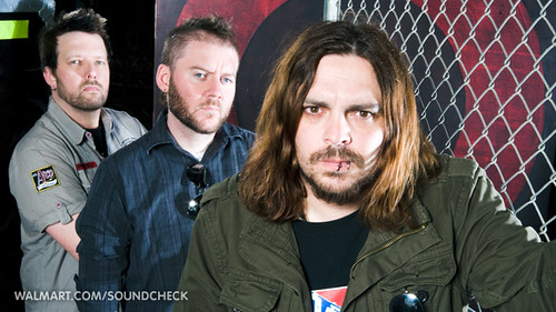Seether at Walmart Soundcheck
