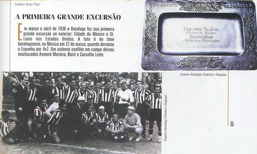Botafogo: Primeira Excursão internacional