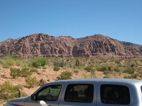 Part of the Calico Hills, Red Rock Canyon, 6/08
