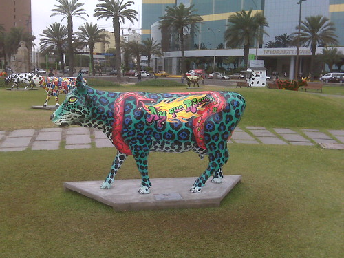 The 'Cow Parade' - Vacas in Lima