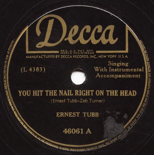 Decca 46061 (1947)