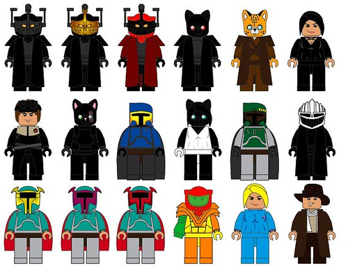 Lego Star Wars Characters