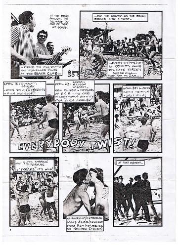 Durutti Column, Ludus, Kevin Hewick, Certain Random Cabaret at The Beach Club, OOZITS,MCR 1980