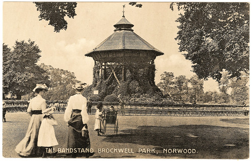 Norwood - Brockwell Park Prior to 1916. And Sarah Brightman.