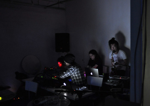 ENG (electronoise group) at Deep Listening Chair Festival 2009