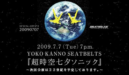 YOKO KANNO SEATBELTS 超時空七夕ソニック