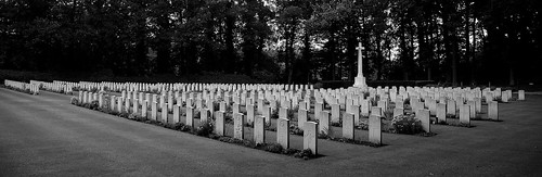 Oosterbeek Cemetery just outside of Arnhem Holland, British and Allied War Graves