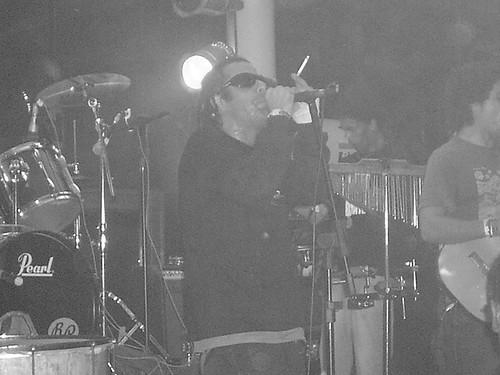 Batuque Muamba Fun apresentação no Festival Demo Sul 2008 - 11 de outubro