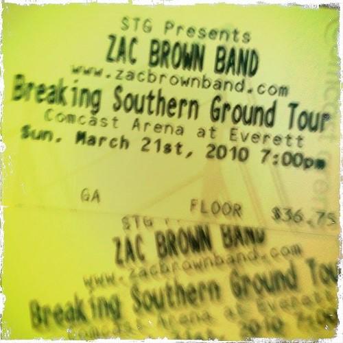 Zac Brown Concert