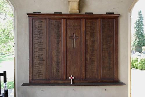 Stratford-on-Avon WW 1 War Memorial