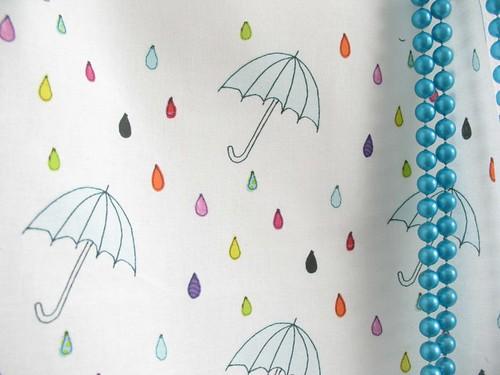 Spring rain spoonflower fabric
