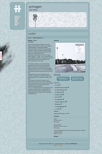 Cover image for Zymogen netlabel release