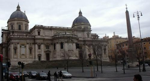Santa Maria Maggiorre, Piazza dell´Esquilino, Roma, Italia.
