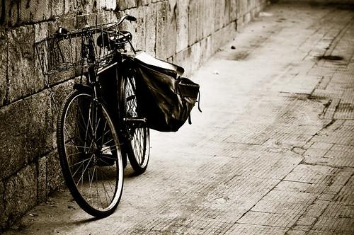La vida es como la bicicleta, hay que pedalear hacia adelante para no perder el equilibrio